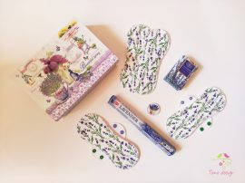 """Lavender"" gift box for woman"