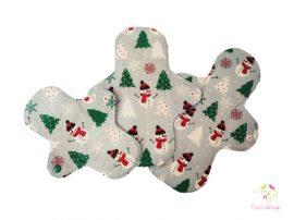 """Snowman"" cloth pads starter kit"