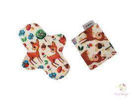 """""""Cute deer"""" cloth pad + wetbag"""