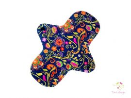 24 cm cloth pad with Timo design unique pattern, for heavy flow