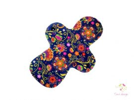 28 cm overnight cloth pad with Timo design unique pattern, for extra heavy flow