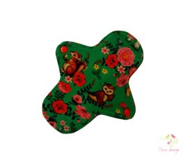18 cm cloth pad for light flow with forest animals pattern