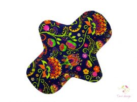 20 cm cloth pad with Timo design unique pattern, for moderate flow