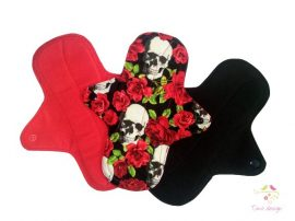 24 cm cloth pad pack (sold as a pack of 3), for heavy flow