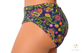 Period panties for light flow in bikini style with Timo design unique pattern