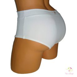 """White period panties for moderate flow with """"boat"""" design and replacable cloth pads"""