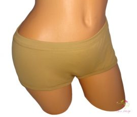 Skin period panties for heavy flow, in boyshort style