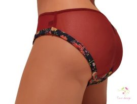 Period panties for moderate flow, with unique Timo design pattern