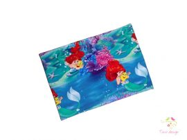 Girl waist warmer with little Mermaid pattern
