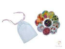 Mosható arctisztító korong, 10 db-os csomag, mosóhálóval