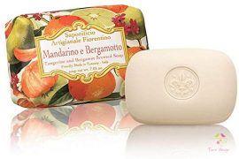 Tangerine and bergamot scented soap bar (200 gram)