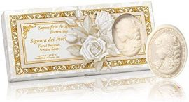 """Lady of flowers"" scented soaps 3 pcs set"