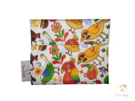 Small wetbag with birds pattern