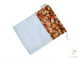 Reusable product bags with potatoes pattern