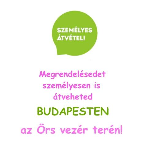Személyes átvétel Budapesten